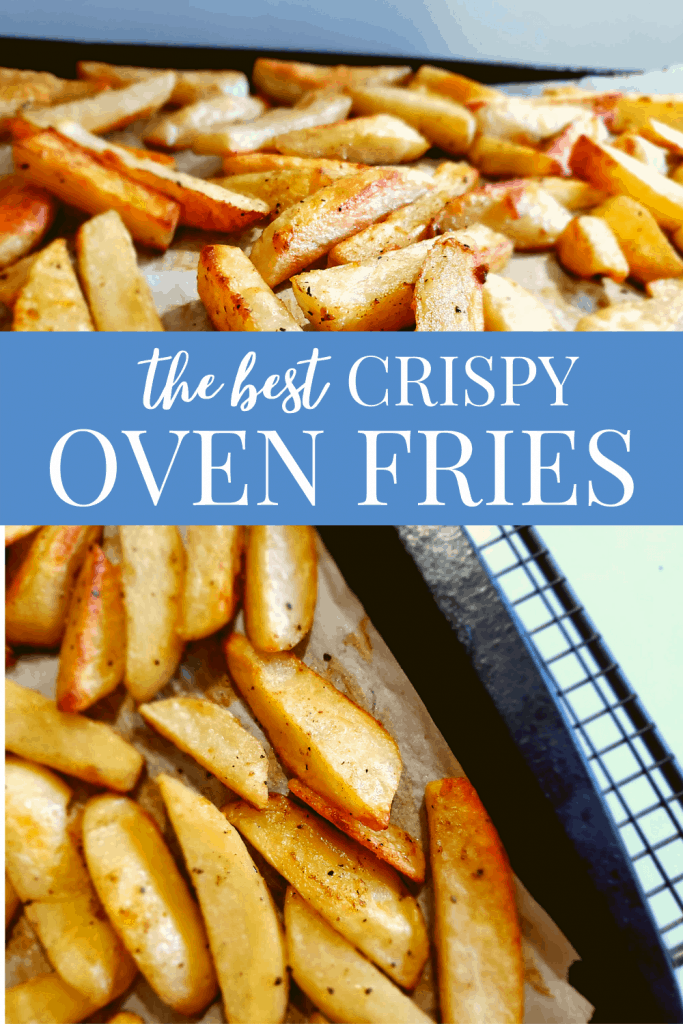 The best crispy oven fries #recipes #simplecooking #healthy #sidedish #fromscratch #crispy #fries