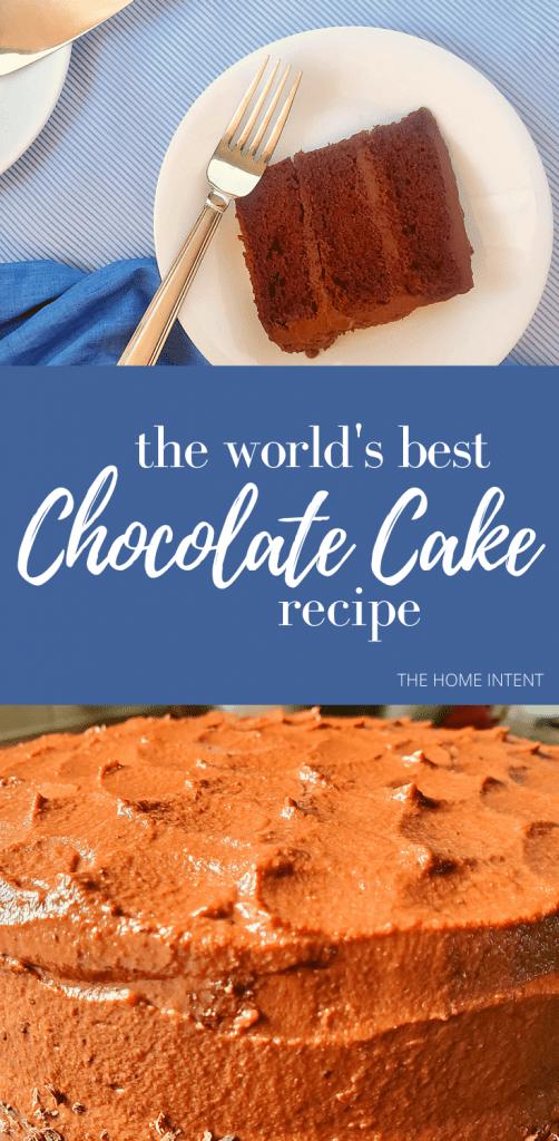 The world's best chocolate cake #chocolate #cake #delicious #birthdaycake #dessert