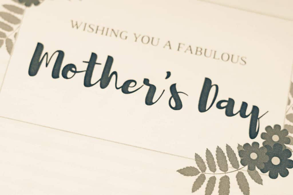 """""""wishing you a fabulous mother's day"""" mother's day card"""