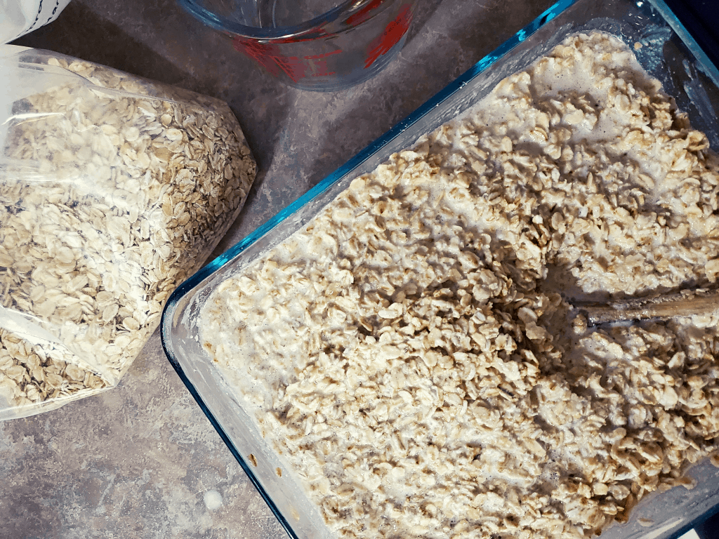 Soaking oats for dehydrator granola
