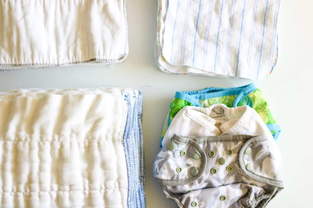 one-size diaper covers, prefolds, inserts and cloth wipes