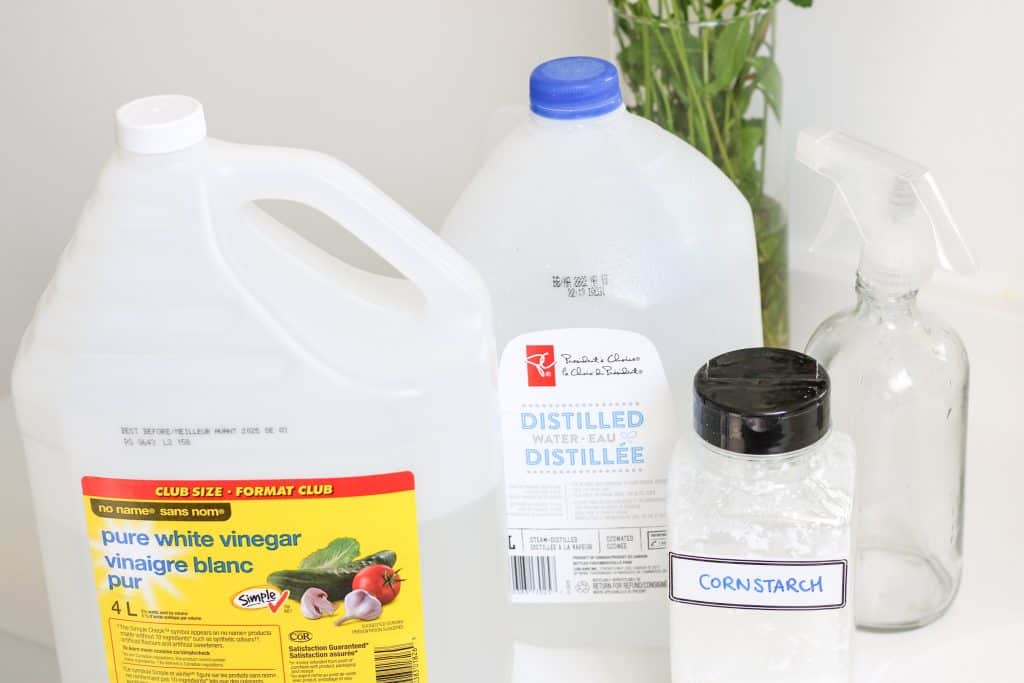Ingredients for glass cleaner