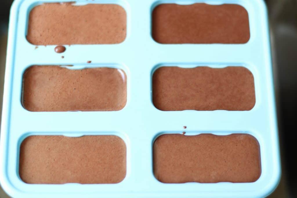 popsicles batter in molds