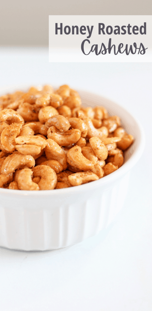 roasted cashews in bowl