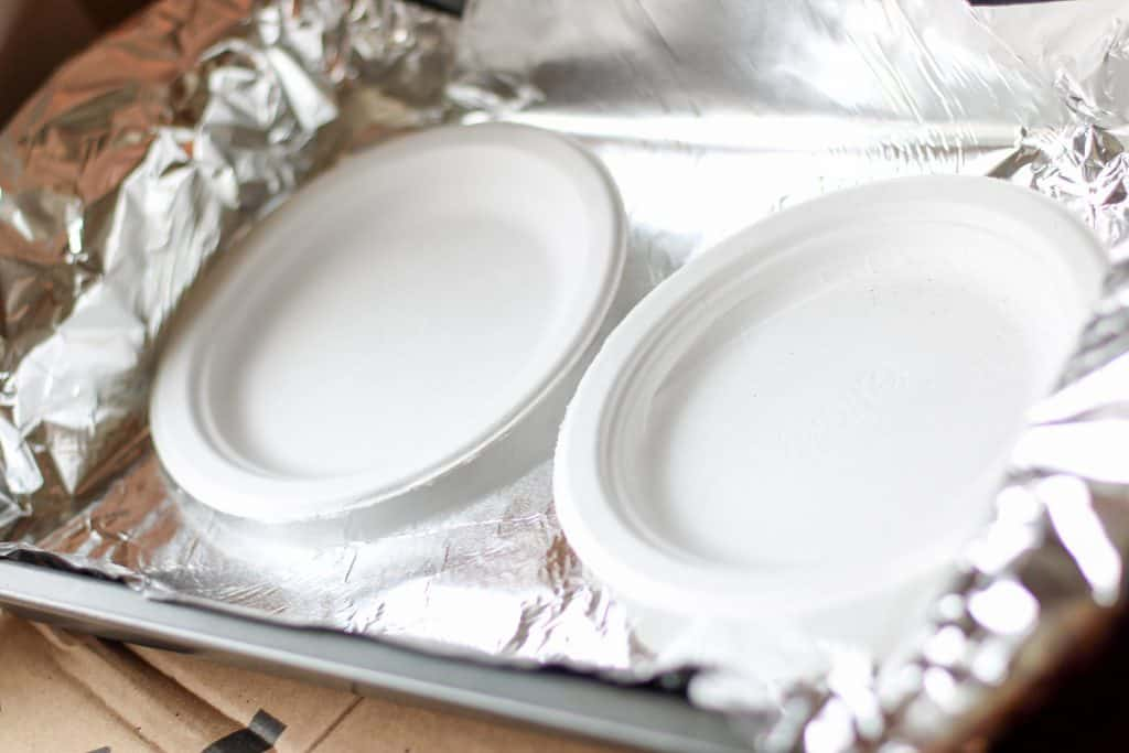 2 plates in 9x13 pan