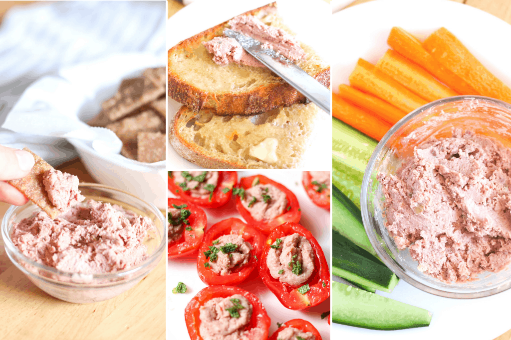 different ways to eat pate